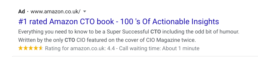 Amazon Number One CTO Book